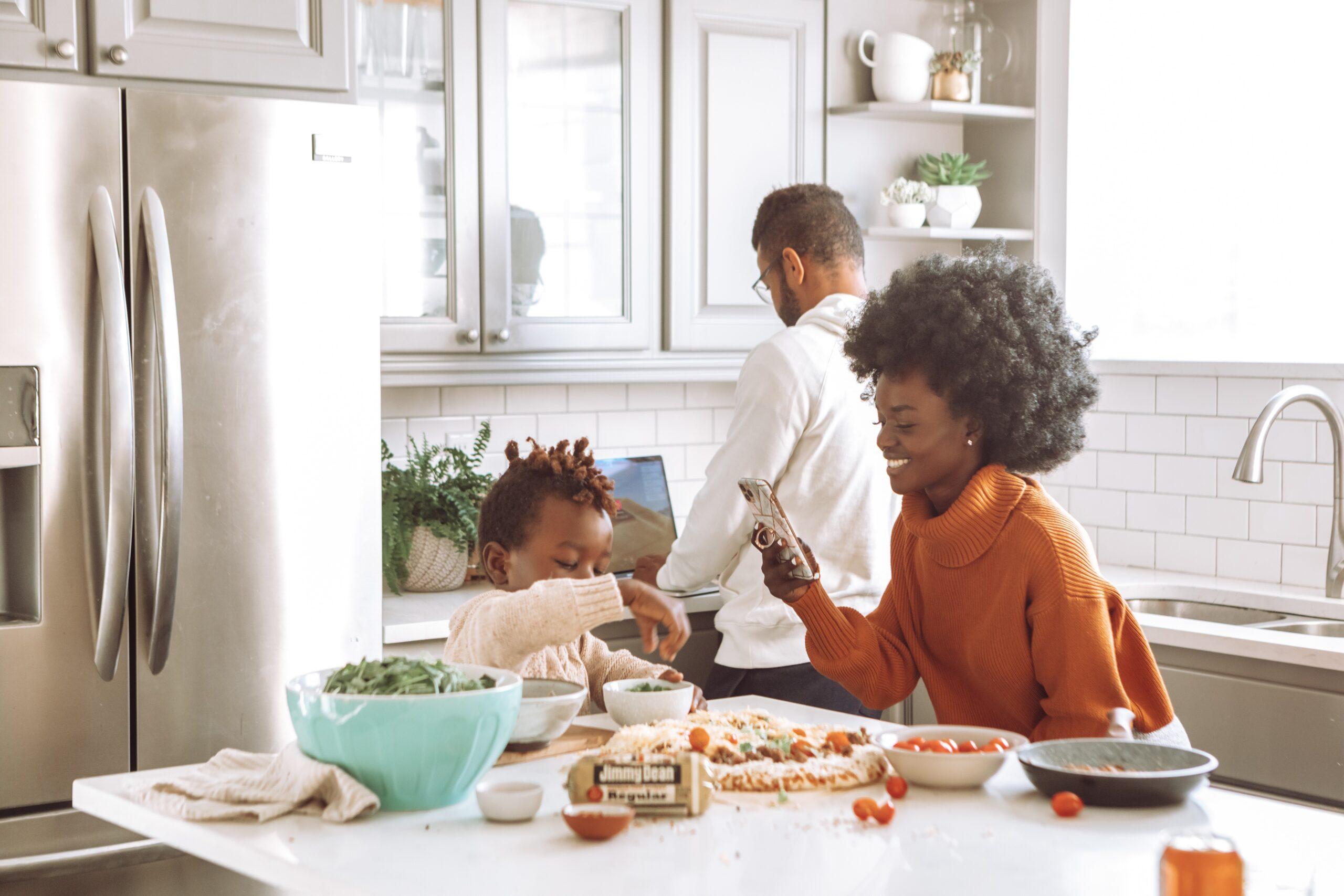 affordable kitchen remodel after photo
