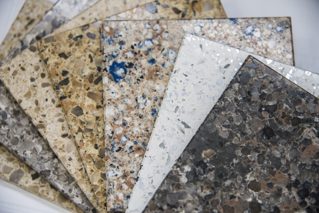 granite counter material examples