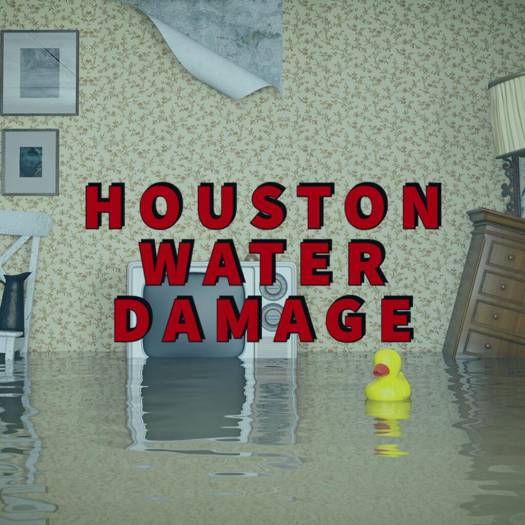Houston water damage